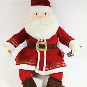 """Polar Express Talking Santa 18"""" Hallmark"""
